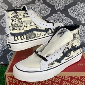 Vans SK8-Hi 138 DECON V66 MARSHMALLOW MEN'S